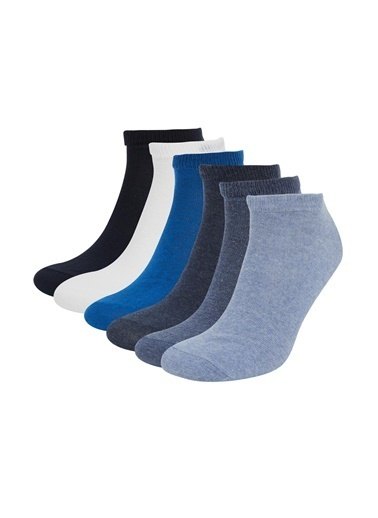 DeFacto Patik Çorap 5'li Mavi
